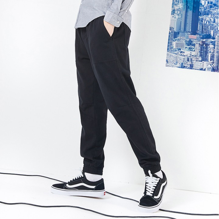 2ea1eddf3785f camp new style casual pants men brand clothing fashion solid loose trousers  male 100% cotton