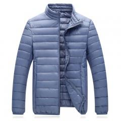 Winter Parka Men Jacket Fashion ultraLight Warm Jacket Coat Men Light Weight Down Parkas Male Out