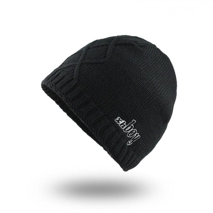 e88249d4d5d Winter Hat Skullies Beanies Men Women Knitted Hat Scarf Winter Caps Mask  Balaclava Bonnet Cap Woo