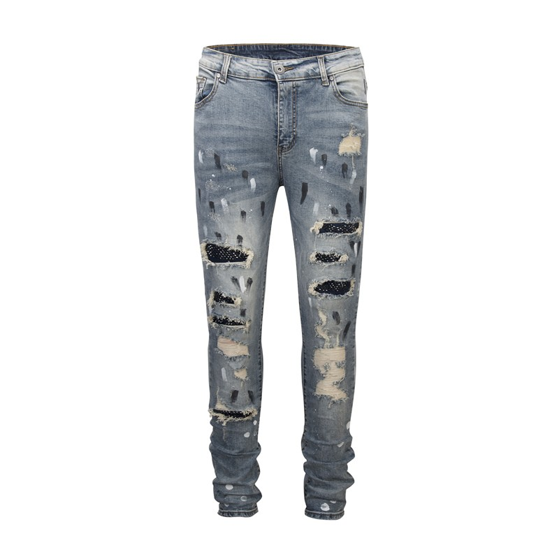 888d29c30d3 men women jeans hip hop streetwear fear of god joggers casual justin ...
