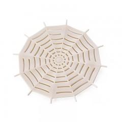 1Pc Kitchen Silicone Spider Web Sink Filter Sucker Floor Strainer Shower Hair Sewer Drain Bathroo
