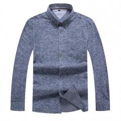 size 8XL 7XL 6XL 5XL Mens Shirt Brand 2018 Male Long Sleeve Shirts Casual  cotton Slim Fit Solid