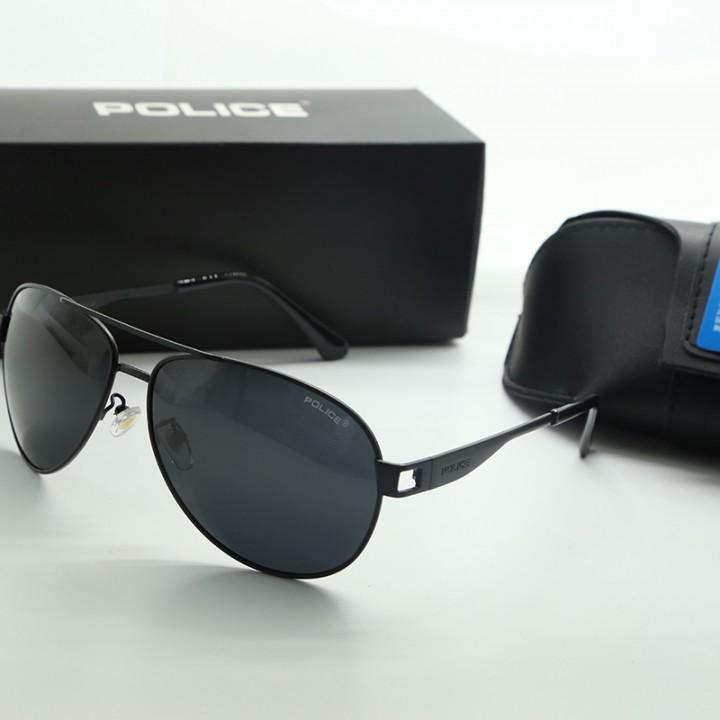 2a62a3808de 2018 POLICER Polarized Sunglasses super male tide driving mirror box  gemajing male sunglasses gla