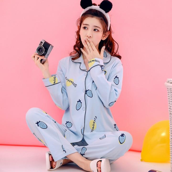 5f8cd4d53f Print Family Pajamas Sets Women Soft Cotton Long Sleeve Sleeping Clothes  Homewear Pajamas Lady Lo