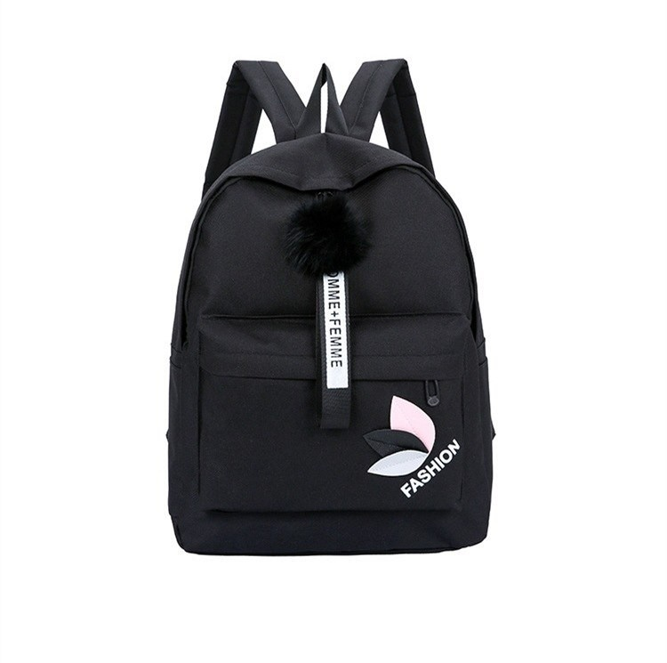 d46b439dd234 Solid backpack girl school bags for teenage College wind Women SchoolBag  High student bag black n  Product No  2909377. Item specifics  Seller ...