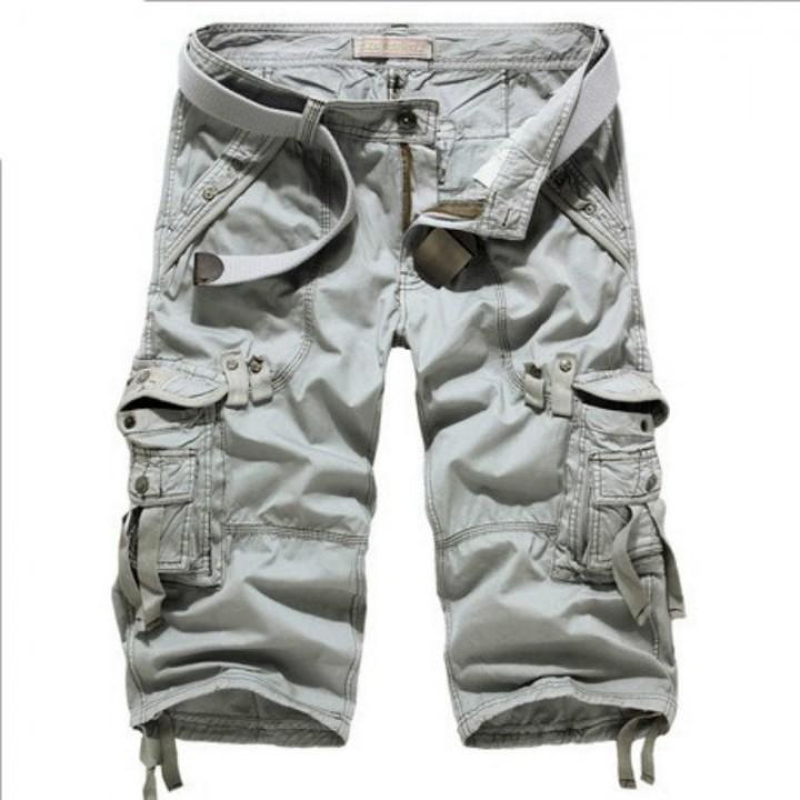 ffbe307a74 Camo Military Shorts Bermuda Summer Camouflage Cargo Shorts Men Cotton  Loose Tactical Short Pants