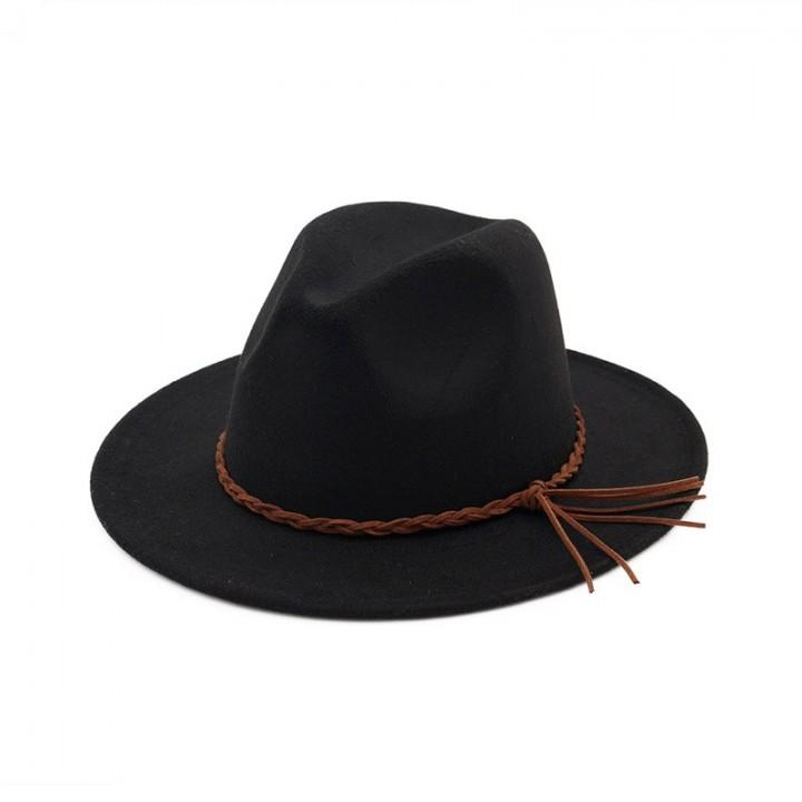 ad5c8226ce6c6 New Fashion Women Winter Wool Red Fedora Bowler Hat Ladies Church Top Jazz  Hat Men Fedora