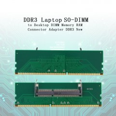 Laptop SO-DIMM to Desktop DIMM Memory RAM Connector Adapter DDR3 New adapter of laptop Internal M
