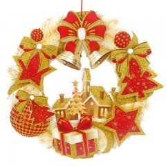 Wreaths for Holiday Tree Door Wall Decoration Door Ornaments Door Bell Christmas Decorations for
