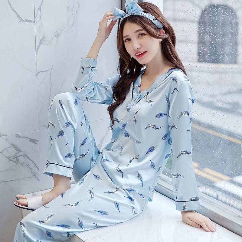 silk Imitation womens 2 pieces pajamas set spring autumn winter lace suit   Product No  2945056. Item specifics  Seller SKU lTNgrrHmEV4  Brand  b3892ae47