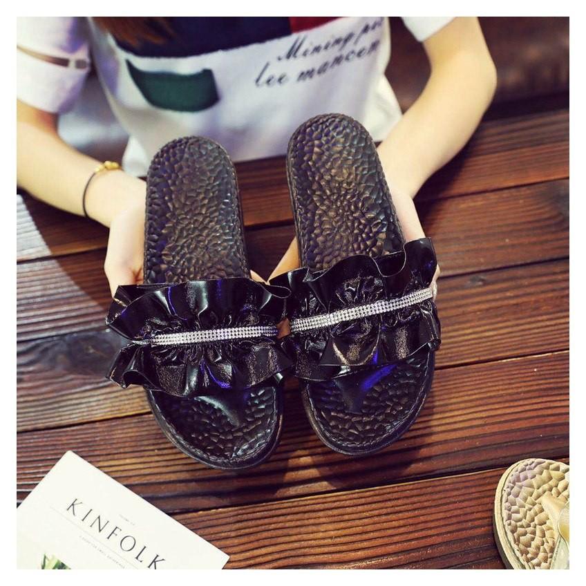 045753a3e ... Slides Platform Summer Sandals Fashion Ruffles Crystal Slipper Women  Flat  Product No  2948432. Item specifics  Seller SKU cvWwtERtiBY  Brand