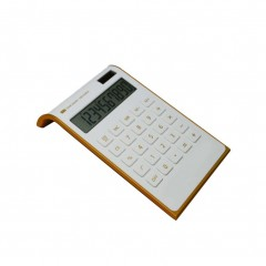 Hot 4 Colors Red White Solar Power Fashion Inclined School Office Calculator Students 10 Digits D