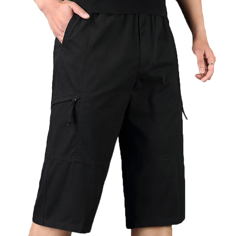 bd7cf26507d48 ... Summer Large Size Short Pants Men Cotton Elastic Waist Tooling Shorts  Siz  Product No  2958391. Item specifics  Seller SKU NIZYWJIlYNf  Brand