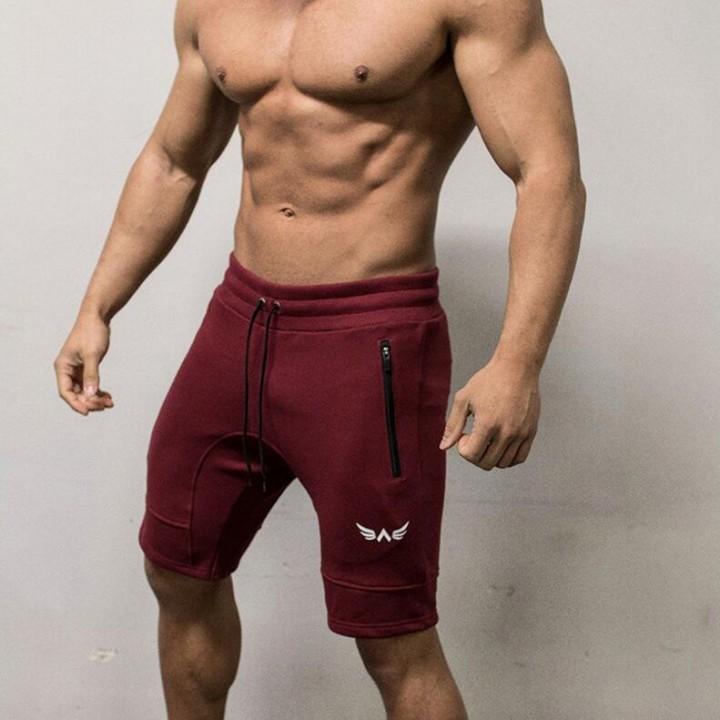 1cd82389df Male Summer Fitness Workout Skinny Sweatpants Elastic Bodybuilding Bottom Shorts  Cotton Men Casua