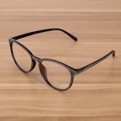 Wooden Grain Mens Glasses Women Frame for Myopia Optical Eyeglasses Woman Vintage Purple Male Eye