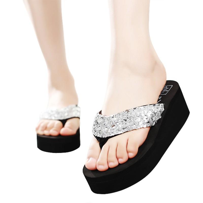 69a15fdf6 ... Fashion Bling Platform Flip Flops Slide Lady Beach Slippers Wedge High  Heels Women  Product No  2976145. Item specifics  Seller SKU DrXOebTseZ6   Brand