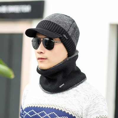 70894241a34 ... Winter Hats For Men Women Wool Scarf Caps Masks Hood Knit Hat sets   Product No  2981039. Item specifics  Seller SKU CRFzGHubG14  Brand