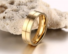 Wedding Rings for Women Men Couple Promise Band Stainless Steel Anniversary Engagement Jewelry Al