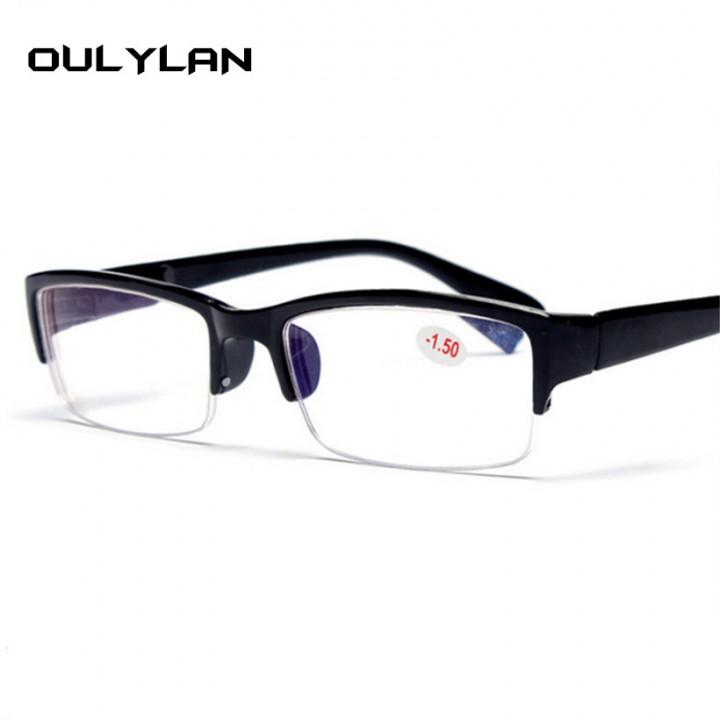 Kilimall: Myopia Glasses Women Men High Quality Half Frame ...