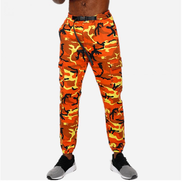 so cheap 2019 wholesale price big selection of 2019 2018 Military Joggers Camouflage Long Pants Fashion Streetwear Track Pants  Mens Cloth Cargo Pants