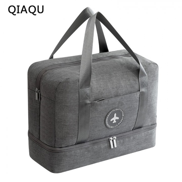 a6a69640dc88 2018 Dry and wet Travel Bag Travel Bags Hand Luggage for Men & Women  Fashion Travel Duffle Bag
