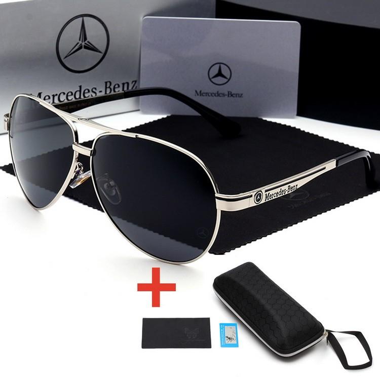 11268b373171 Mens Vintage Square Sunglasses Polarized UV400 Lens Eyewear ...