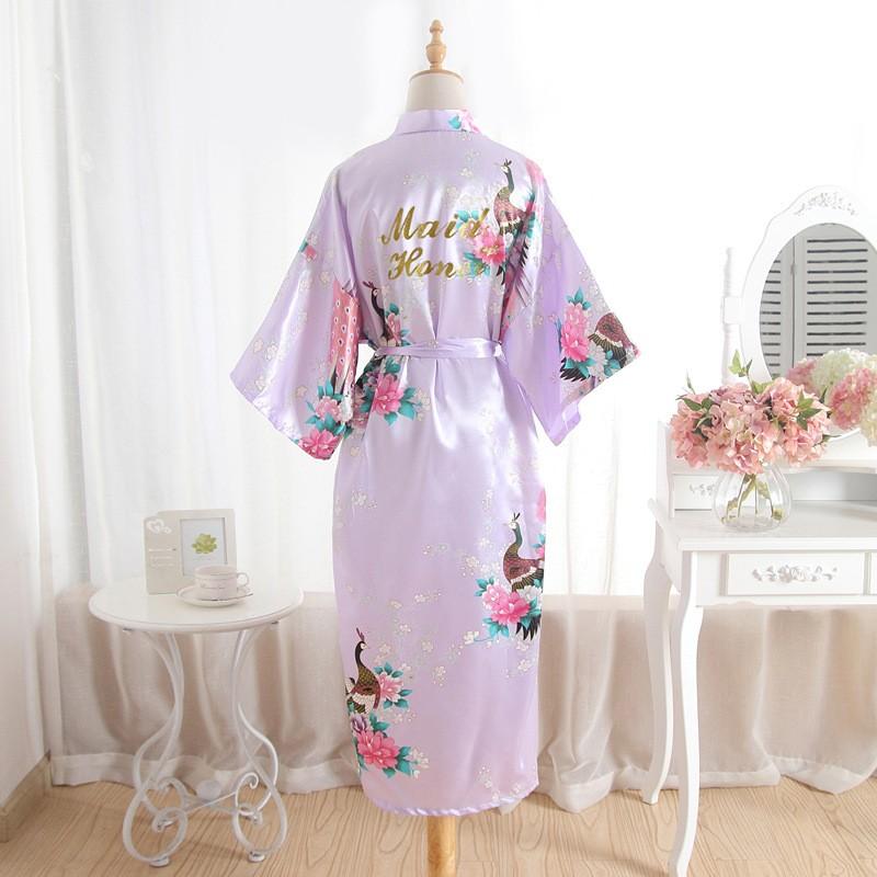 ... Bridesmaid Robe Floral Bathrobe Long Kimono Robe Night Robe Bath Robe  Fashion  Product No  3034682. Item specifics  Seller SKU WoEgTYns5g5  Brand  fb93a3521