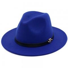 Mens Fedora Fall Winter Warm Hats Mens Womens Universal Hat Jewish Jazz caps Retro Black bowler g