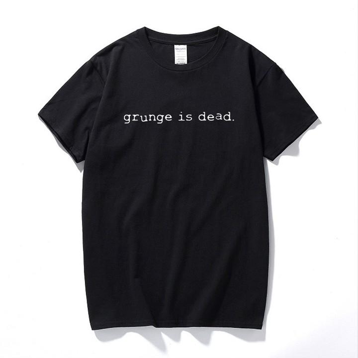 Mens T-Shirt Nirvana As Worn By Kurt Cobain Grunge Is Dead