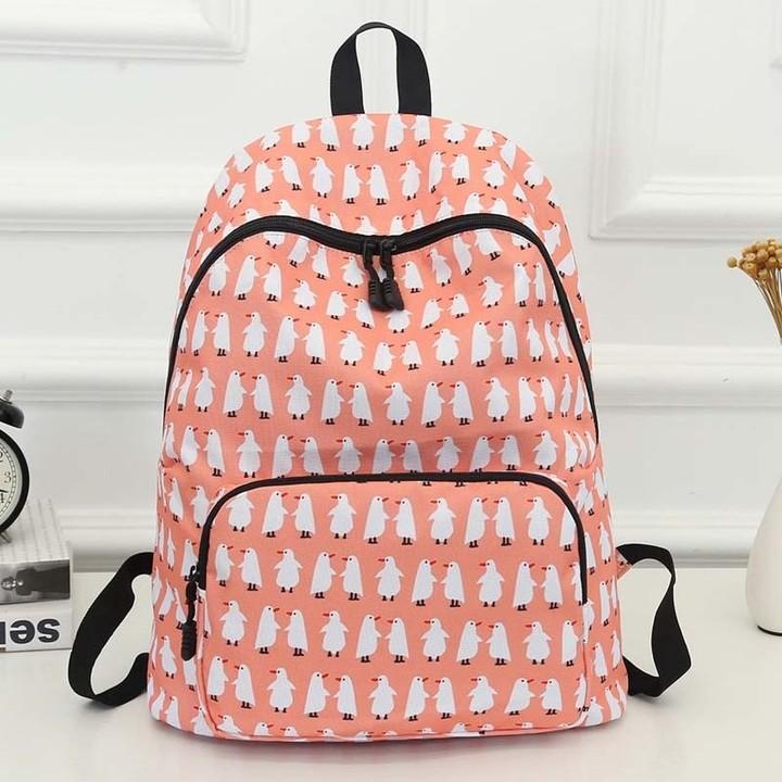 Women Backpack 2018 Printing Style School Bag For Girls New Junior