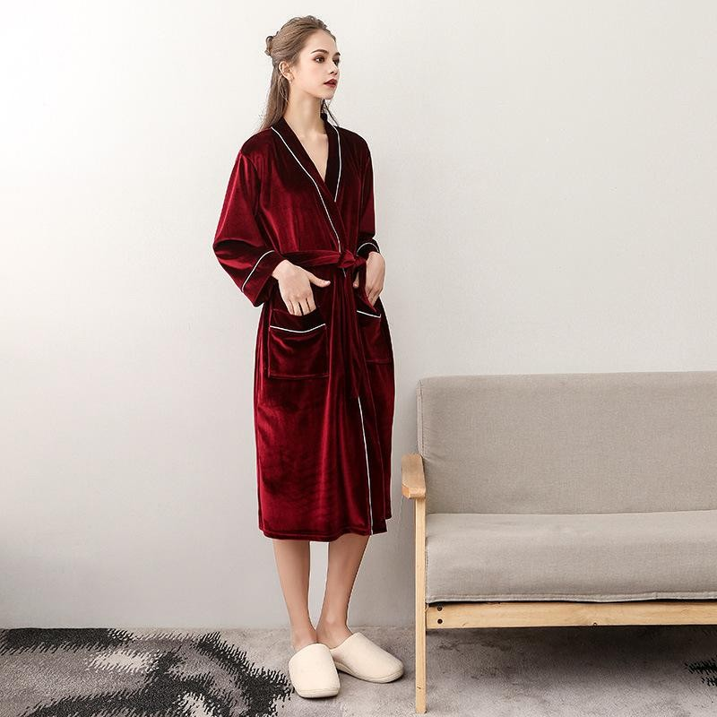 e117760e1c ... Bathrobe Gown Fashion Nightgown Spa Home  Product No  3117535. Item  specifics  Seller SKU lQyTZrLBabU  Brand