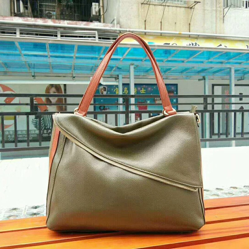 2f0c8a2717be Leather Handbags Women Bags Designer High Quality Cow Leather ...