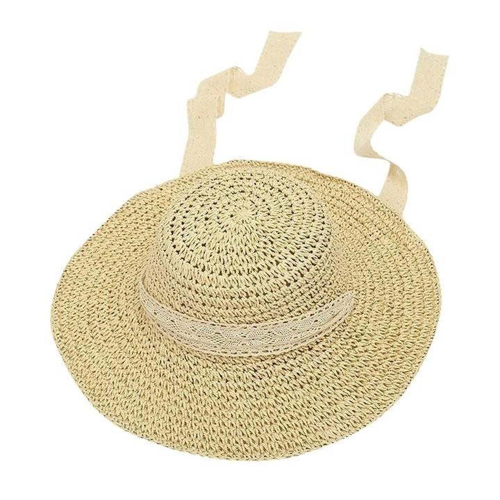 5611a8a5d00bd Women Beach Straw Hat Jazz Sunshade Panama Trilby Fedora Hat Gangster Cap  Woven Straw Hat Visor