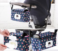 carrier  bag, Mommy  child trolley accessories, hanging bag, baby storage bag.