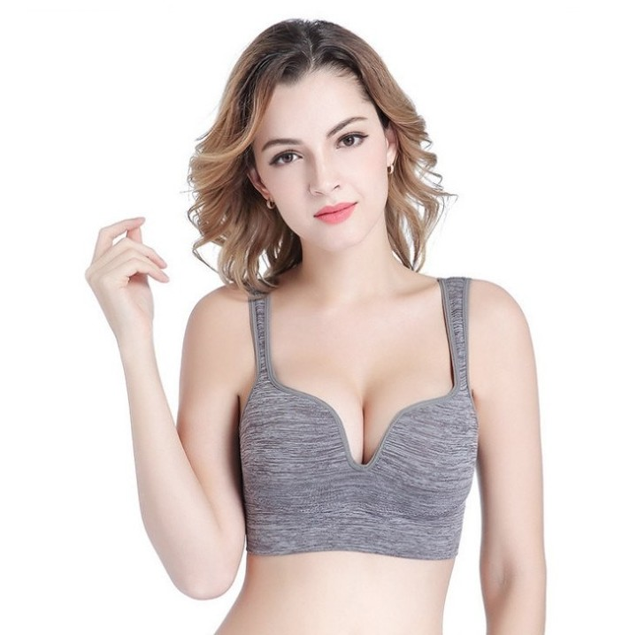 9a32e1366a Sports Bra High Impact for Fitness Yoga Running Pad Shockproof Cropped Top  Sports Tank Tops Sport