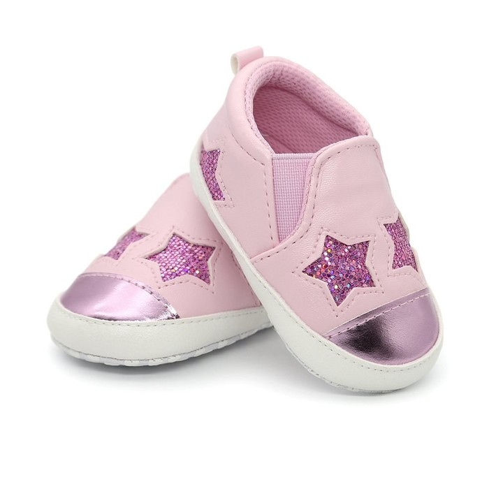 56d2051f090 Pattern PU Leather Soft Solid Shoes Boys Girls Toddler Baby Shoes  Comfortable Non-slip Anti