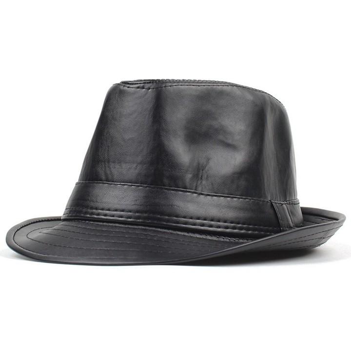0b68813f Style Jazz Caps Hats Fashion Wool Felt Fedoras Trilby Hat solid panama  formal cap for men