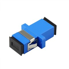 SC fiber optic adapter,SC flange coupler, SC/UPC adaptor, fiber coupler for digital communication