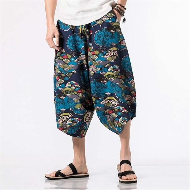 1df7425174d Hip Hop Harem Pants Baggy Cotton Linen Harem Pants Men Women Plus Size Wide  Leg Trousers