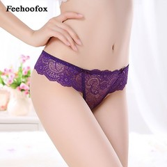 Arrival  2018 Sexy Panties Transparent Lace Underwear For Women Pure cotton bottom Female G Strin