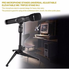 Desktop Microphone Stands Universal Adjustable Elevatable Microphone Holder Mic Tripod Stand Brac
