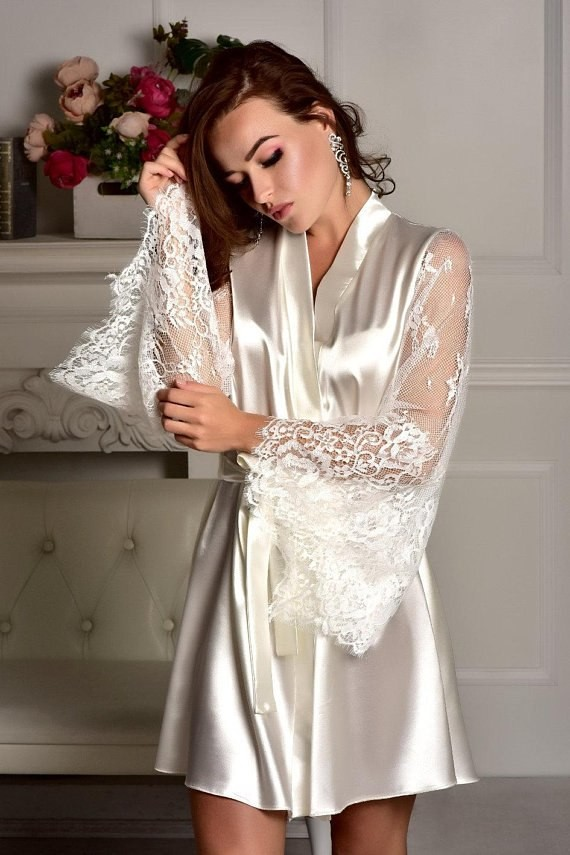 Lace Sleepwear Robe Bathrobe Sexy Lingerie G-string Babydoll Night Gown  Sheer Long Sleeve  Product No  3298660. Item specifics  Seller  SKU fvNDCdJimqu ... aece3dd15