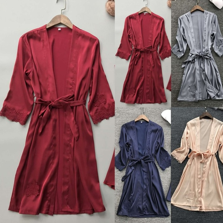 fed6175804 Lady Sexy Ladies Lingerie Sleepwear Gown Sets Women Babydoll Robe Underwear Night  Dress