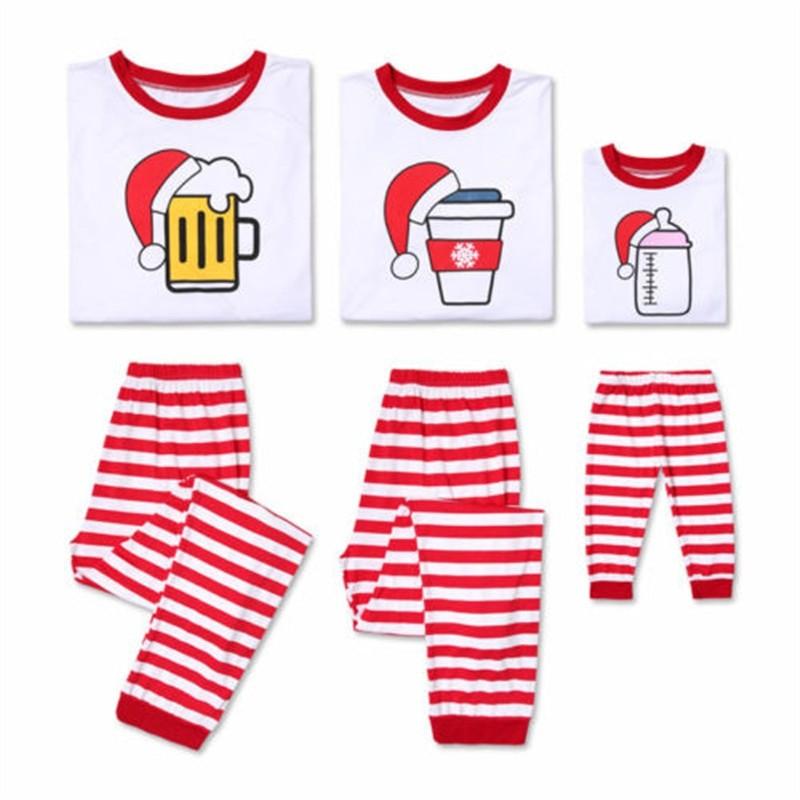 e241d3a1ee Item specifics  Seller SKU vekNhyUdTKe  Brand  Family Matching Christmas  Sleepwear 2019 New Years Adult Women Men Kid Long Sleeve Nightwear Family  Look ...
