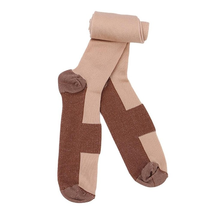 Anti-fatigue Compression Socks Unisex Foot Pain Relief Soft Miracle Copper Anti Fatigue Magic Socks Support Knee High Stockings Underwear & Sleepwears