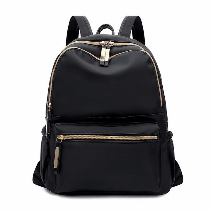 Women Simple Backpacks Black Oxford Backpack School Bags For Teenage Girls  Bag Sac A Dos Femme fdc878407dd81