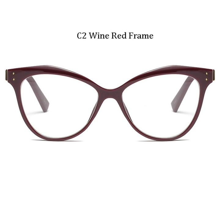 81d2906ab0d MICC Brand Designer Cat Eye Glasses Women Vintage Acetate Big Frame Clear  Lens Eyeglasses Q308