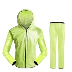 4 Color Universal Cycling Raincoat Zipper Unisex Rain Coat Outdoor Waterproof Raincoat Windproof
