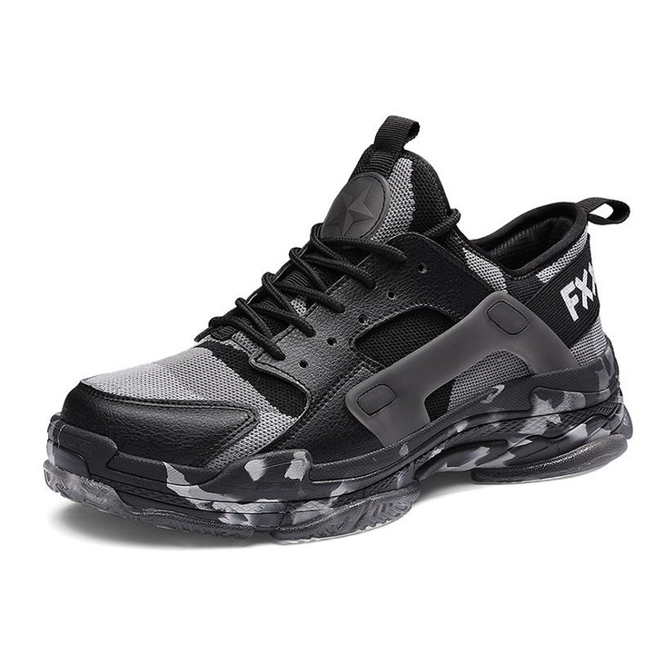 buy online 09b9f 7678d Hot Sale Running Shoes for Men Lace Up Athletic Trainers Lace Up Sports  Male Shoes Outdoor Walkin