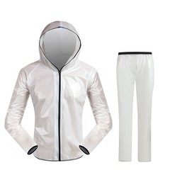 Fashion Ultra-Thin Unisex Raincoat Suit Outdoor Camping Fishing Breathable For Women Men Raincoat